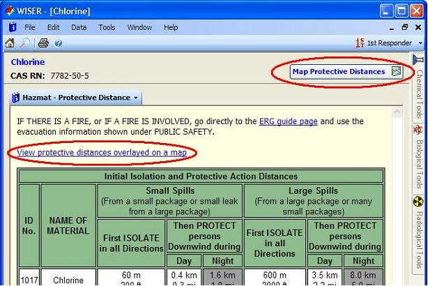 Find Protective Distance Data