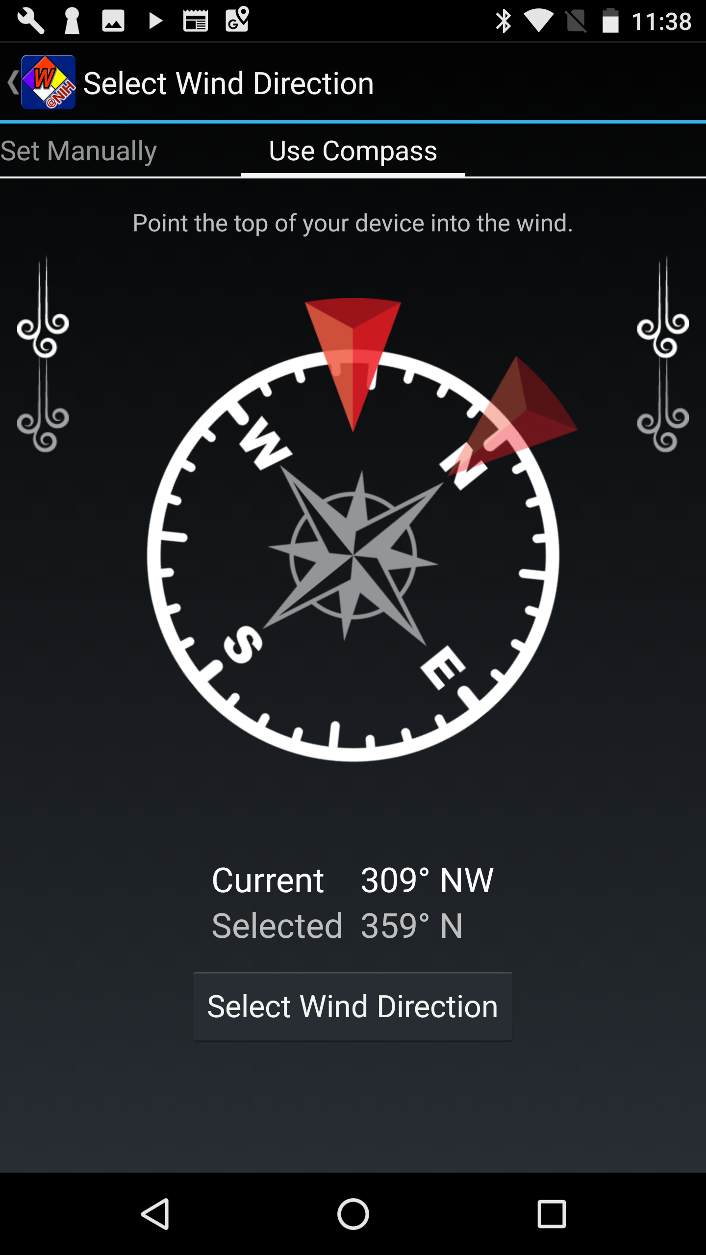 Android Compass Example